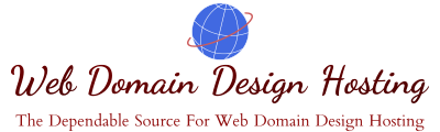 Web Domain Design Hosting